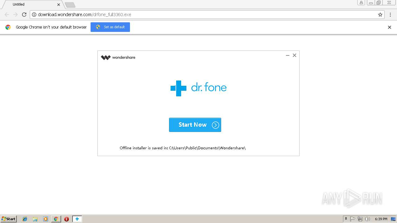 wondershare application framework service remove