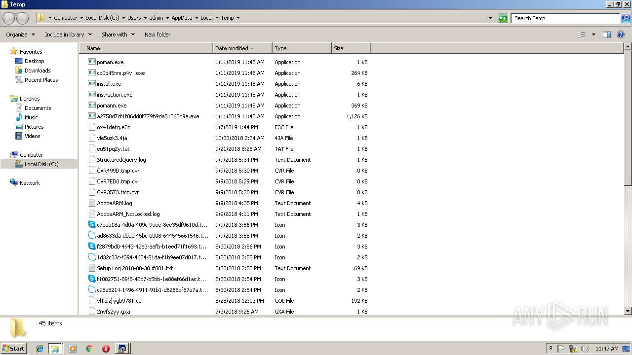 Screenshot of fd687847e471dddacd66f50966a67a8b13f01fa61c0177e770efcd80c7e1f3da taken from 129043 ms from task started