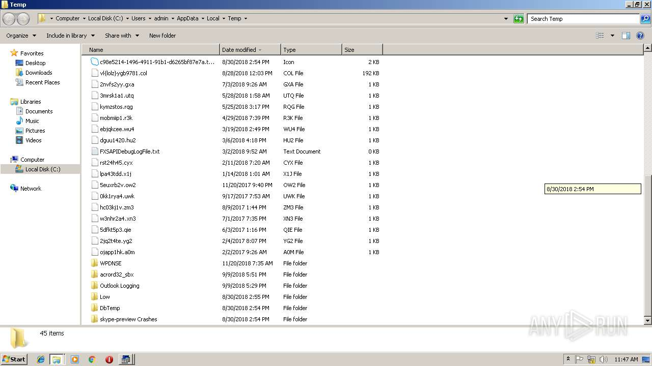 Screenshot of fd687847e471dddacd66f50966a67a8b13f01fa61c0177e770efcd80c7e1f3da taken from 137112 ms from task started