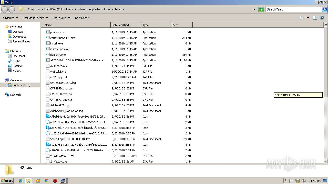 Screenshot of fd687847e471dddacd66f50966a67a8b13f01fa61c0177e770efcd80c7e1f3da taken from 139141 ms from task started