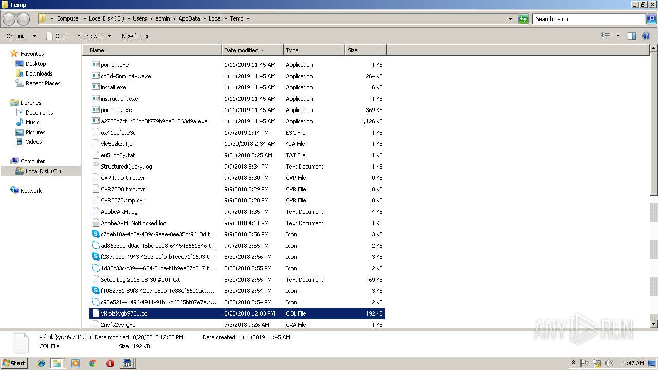 Screenshot of fd687847e471dddacd66f50966a67a8b13f01fa61c0177e770efcd80c7e1f3da taken from 153270 ms from task started
