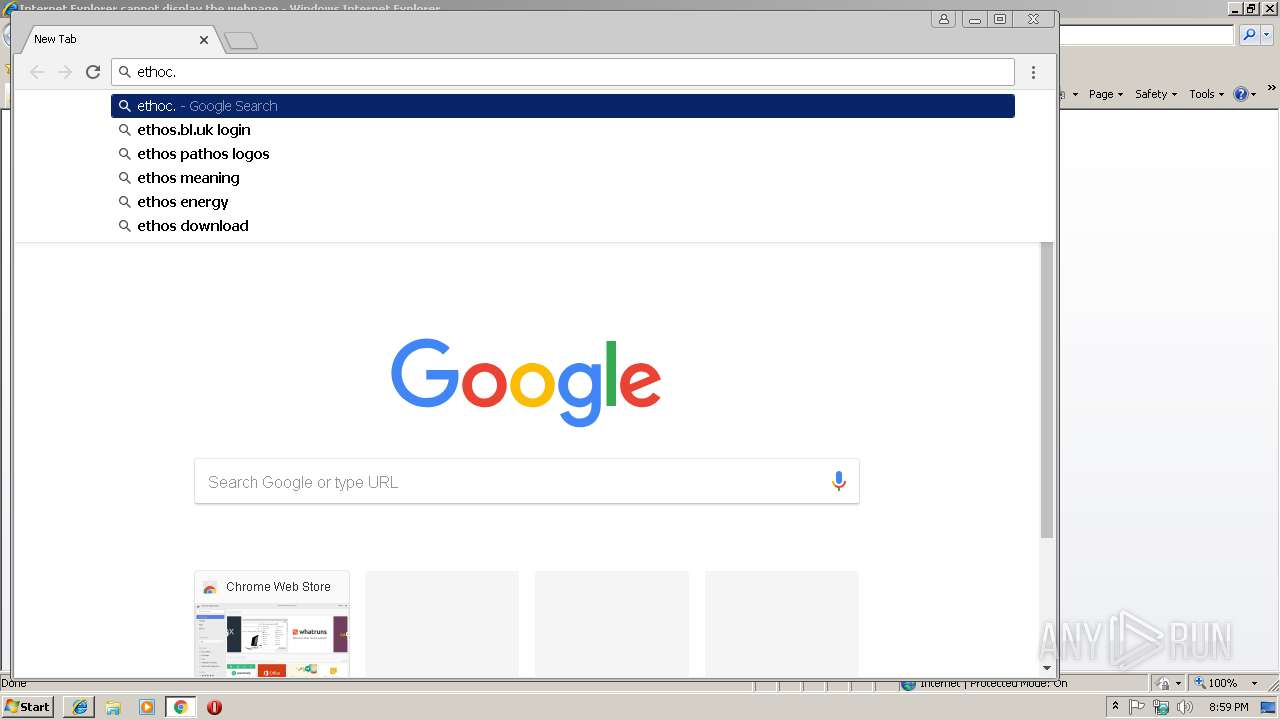 https://www viethoc com | ANY RUN - Free Malware Sandbox Online