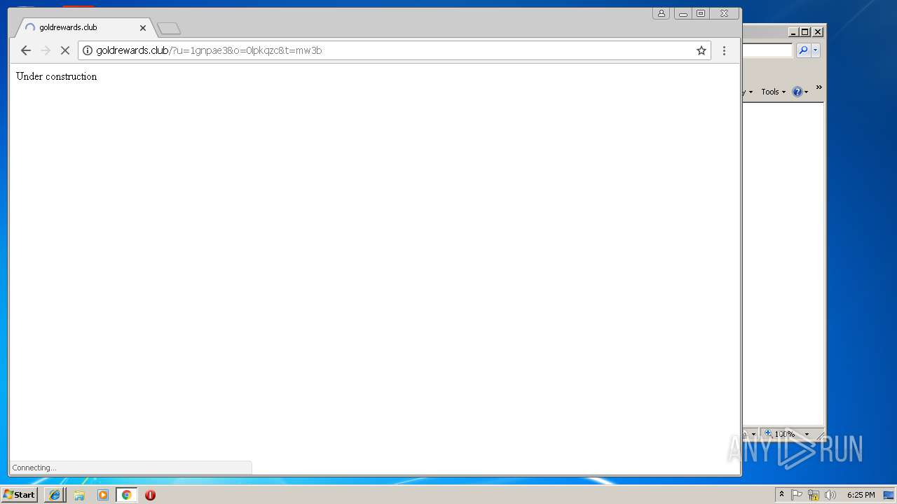 Screenshot of 0b3ac1146e1fbbae6776ecfae60b86a82b9a7803d5a33c4e93dbc09e93694e5f taken from 166336 ms from task started