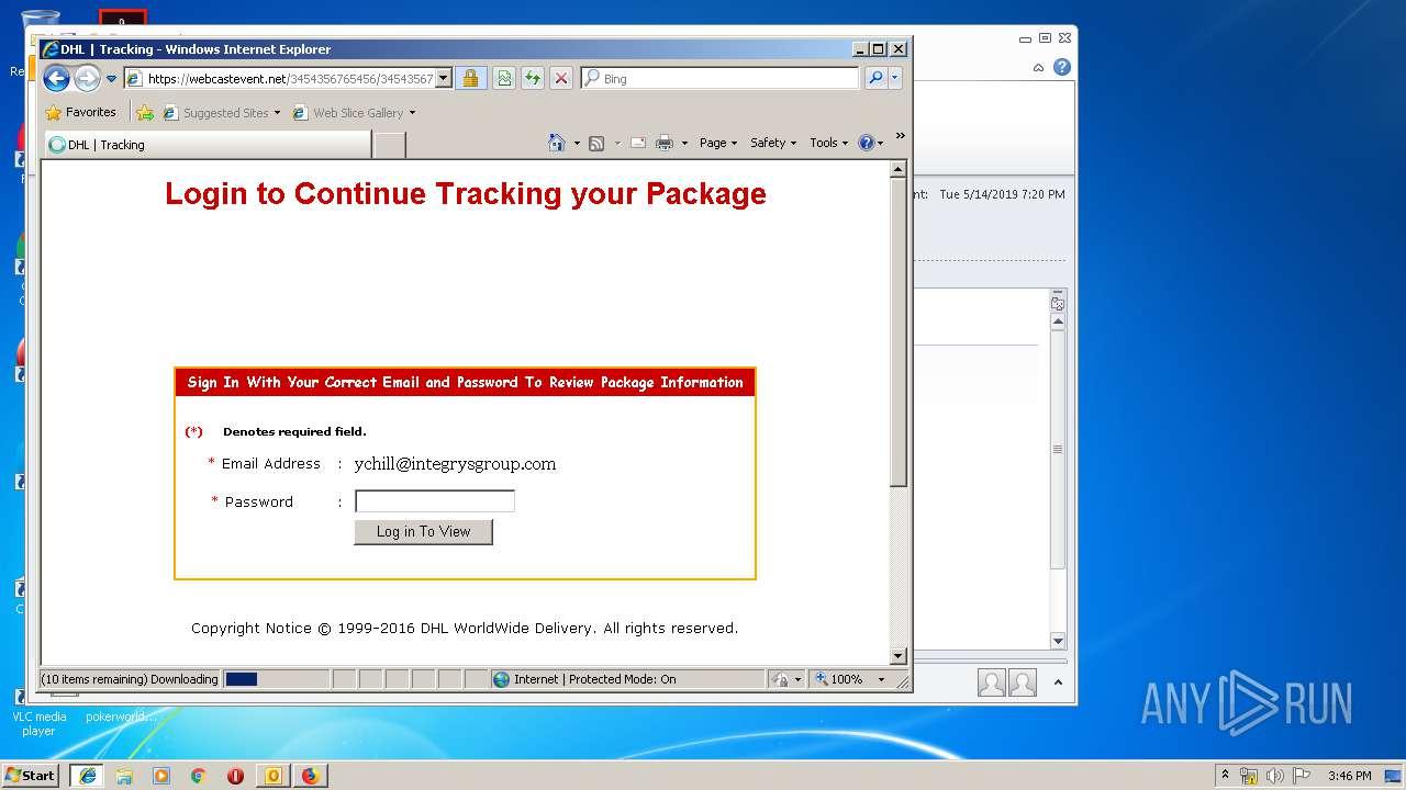 Screenshot of f91e6180920e6086cc473babeedbb661ebe46c9ecaa224495f15188251a4ea47 taken from 145842 ms from task started