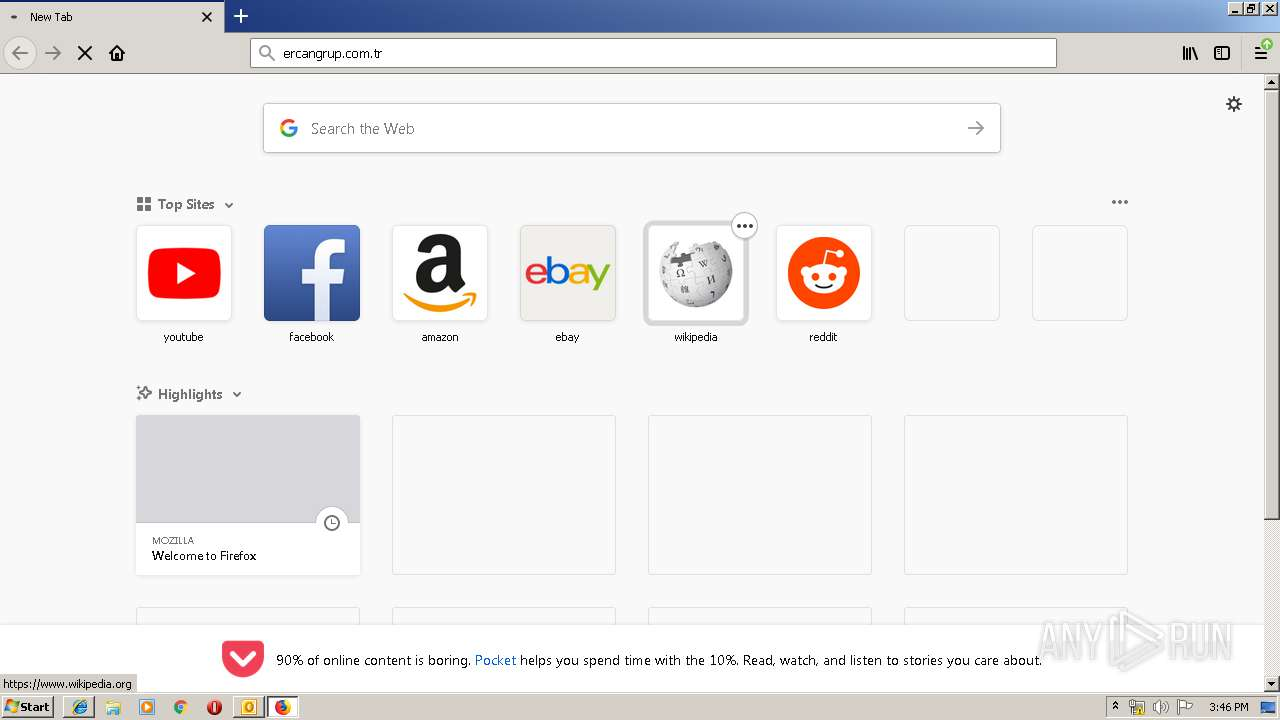 Screenshot of f91e6180920e6086cc473babeedbb661ebe46c9ecaa224495f15188251a4ea47 taken from 129792 ms from task started