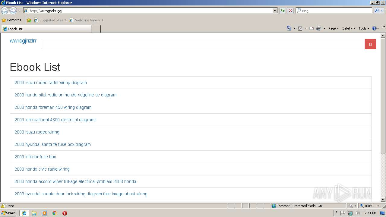 Screenshot of unknown taken from 18305 ms from task started