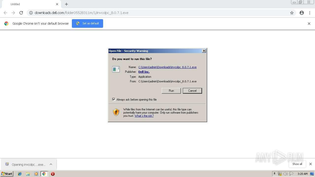 http://downloads.dell.com/folder05528311m/1/invcolpc_8.0.7.1.exe