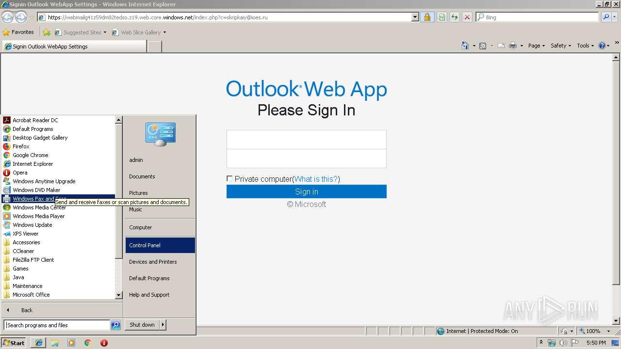 https://webmailg41z59dm82tedso z19 web core windows net/index php?c