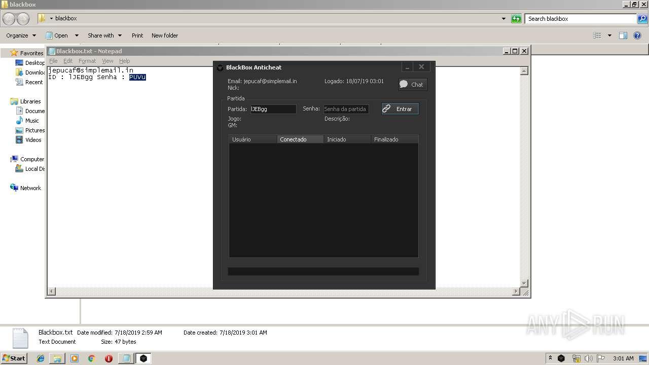 Screenshot of cfb1b2e554a5a65d71bffca9b0ea5d1a9e73d2c7ade3937a8f5a912b6f13c4f6 taken from 74445 ms from task started