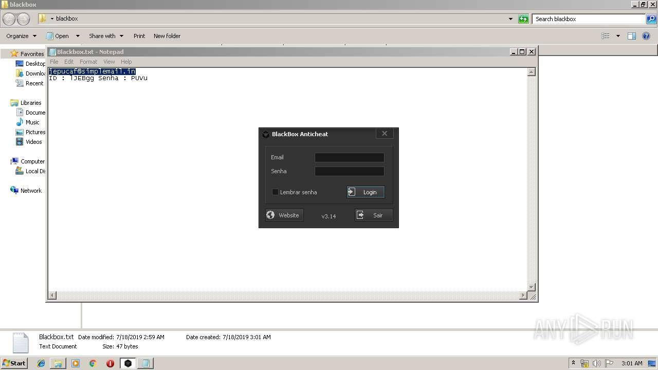 Screenshot of cfb1b2e554a5a65d71bffca9b0ea5d1a9e73d2c7ade3937a8f5a912b6f13c4f6 taken from 52218 ms from task started