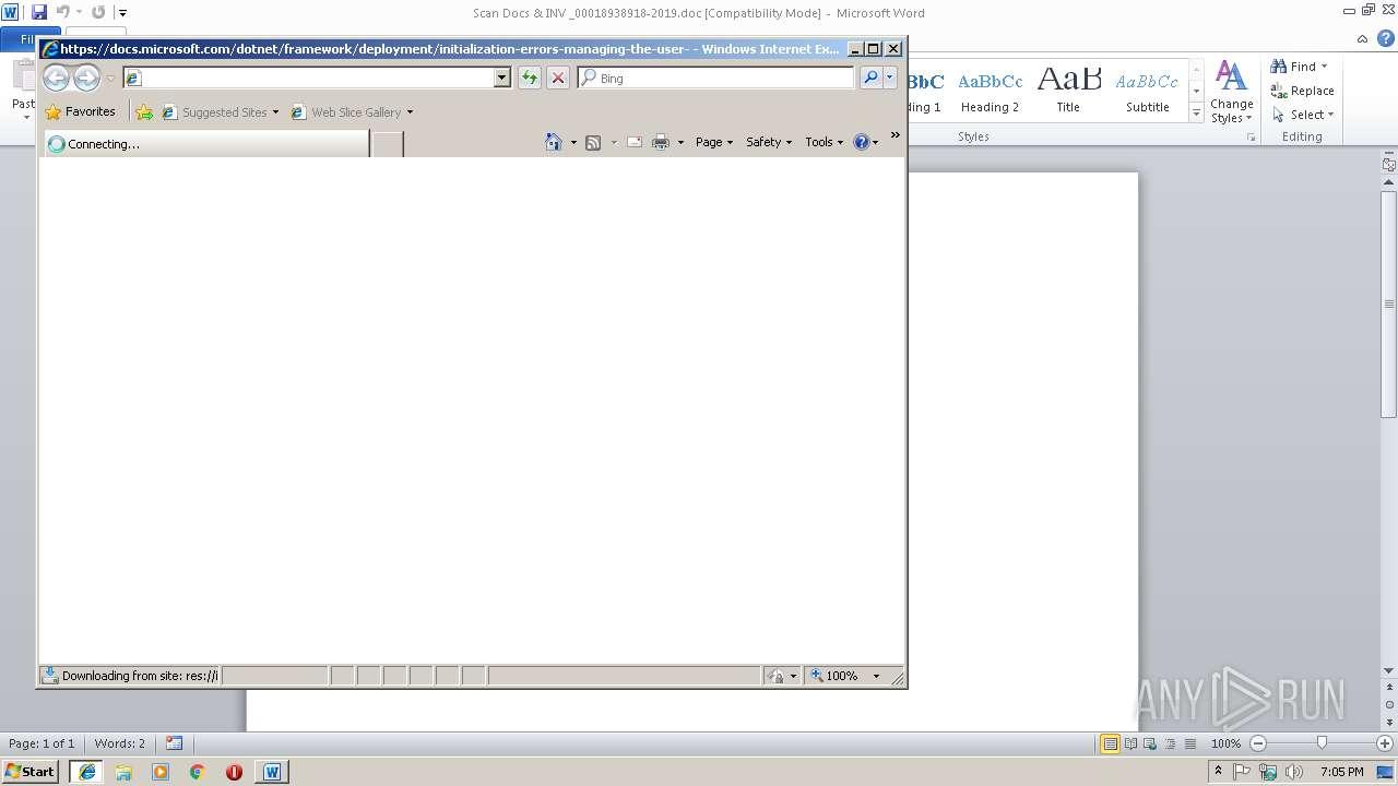 Screenshot of dd47c39fa54fc00f3f71f79e8846a6fc38ac7a8fe2bc88e4410c436da4fdf856 taken from 35864 ms from task started