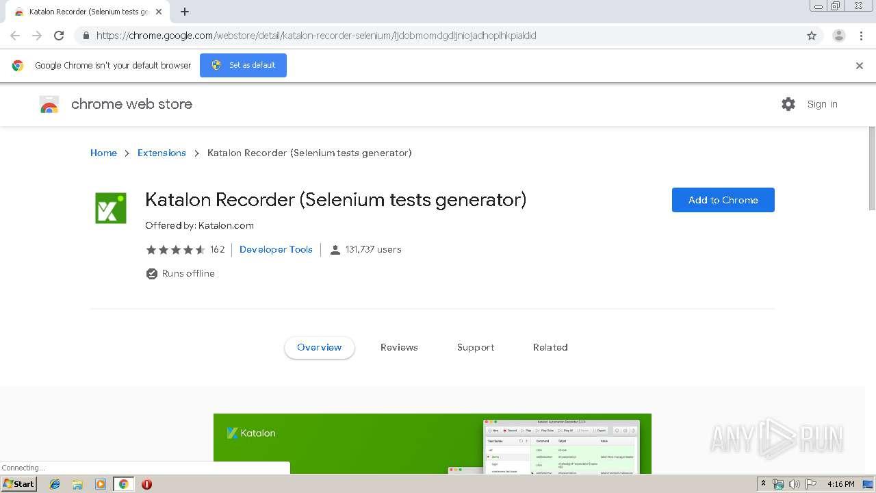 https://chrome google com/webstore/detail/katalon-recorder