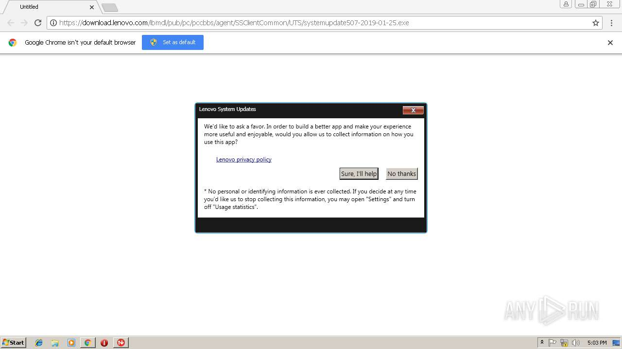 Lenovo System Update Download Location