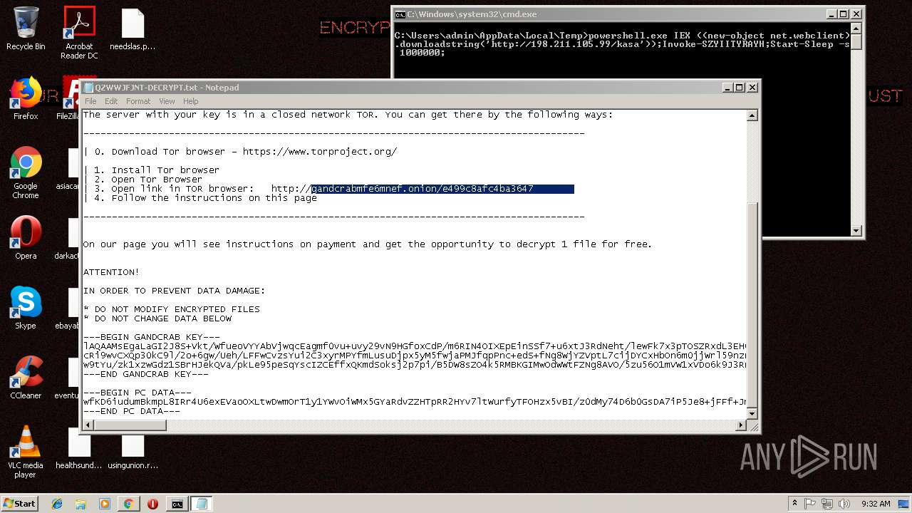 Screenshot of da0c26e8b5431ecc98b7541919cfbb67f2f50a002d9f195375c44bfdfbc35799 taken from 152839 ms from task started