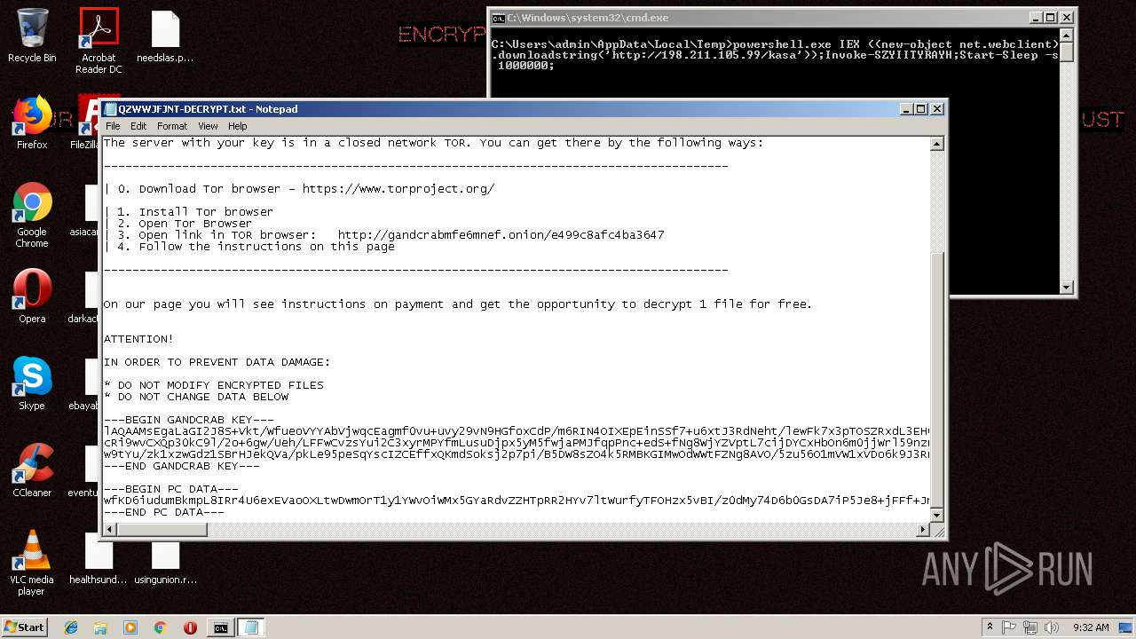 Screenshot of da0c26e8b5431ecc98b7541919cfbb67f2f50a002d9f195375c44bfdfbc35799 taken from 139660 ms from task started