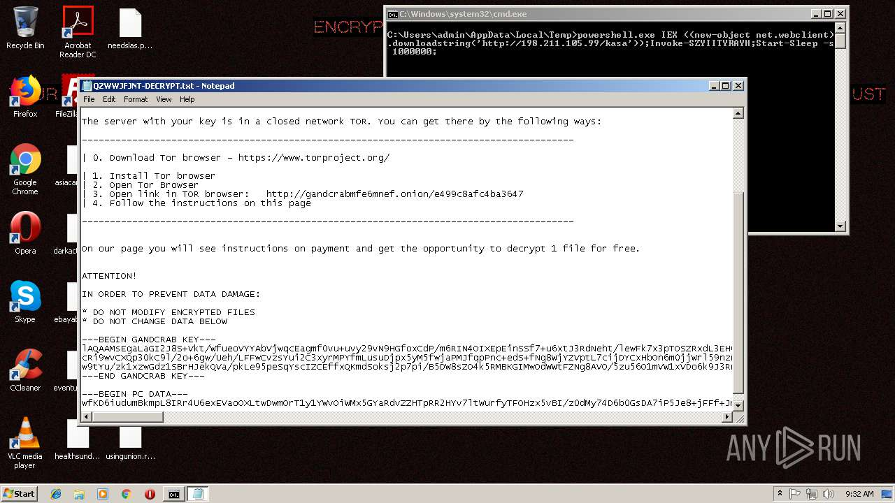 Screenshot of da0c26e8b5431ecc98b7541919cfbb67f2f50a002d9f195375c44bfdfbc35799 taken from 138659 ms from task started
