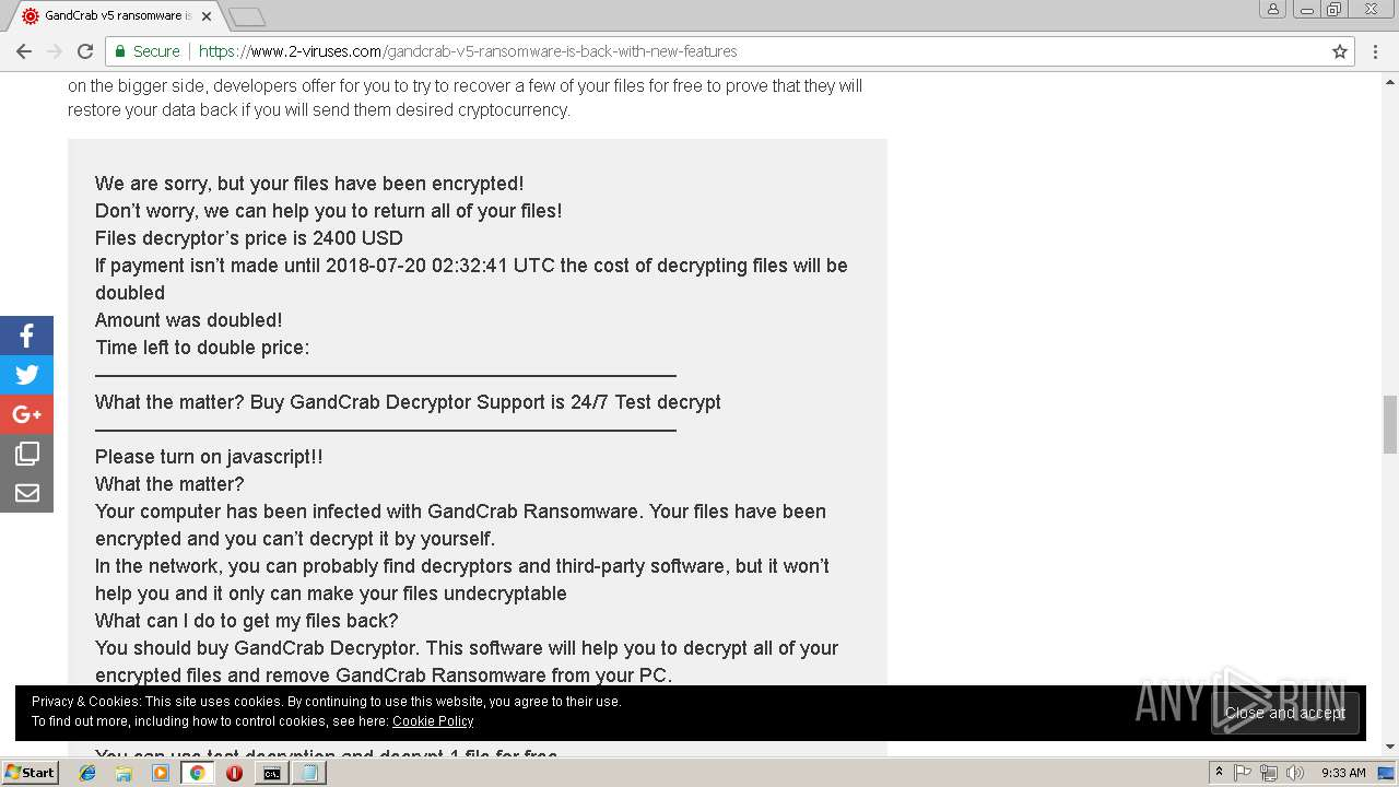 Screenshot of da0c26e8b5431ecc98b7541919cfbb67f2f50a002d9f195375c44bfdfbc35799 taken from 188736 ms from task started