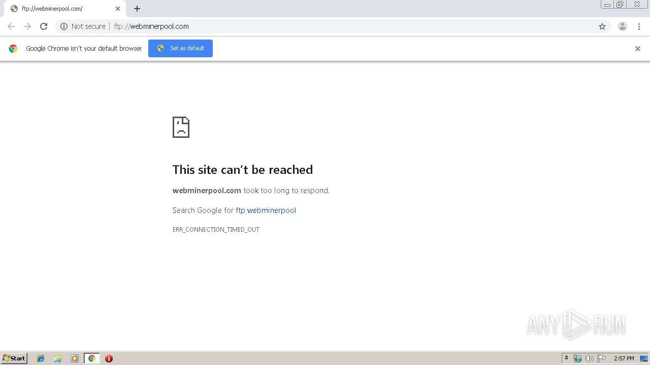 ftp://webminerpool com | ANY RUN - Free Malware Sandbox Online