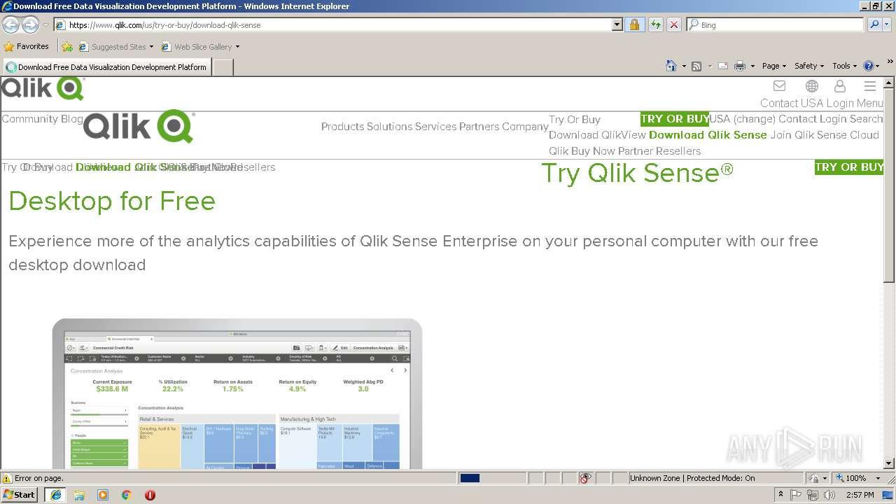 https://www qlik com/us/try-or-buy/download-qlik-sense | ANY RUN