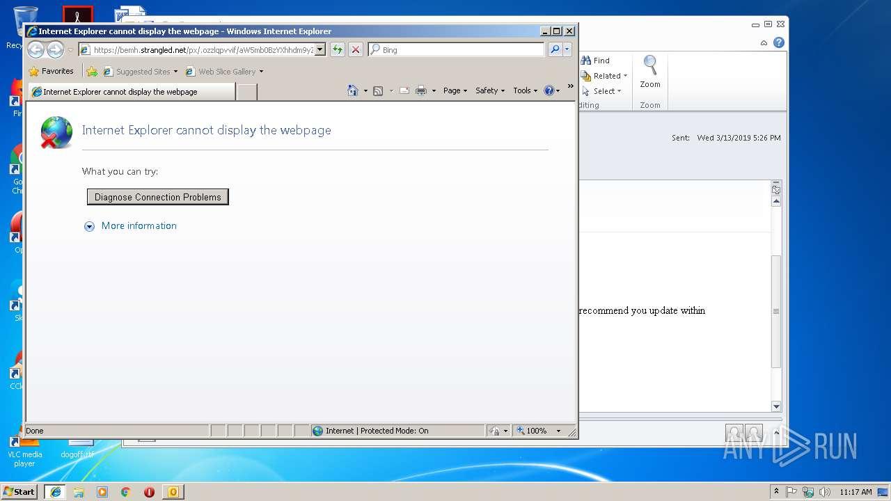 Screenshot of ebfbcba68983fc80e1621193b94ae6cab25e29f56ade9fabd29e5a1ea73f8748 taken from 24696 ms from task started