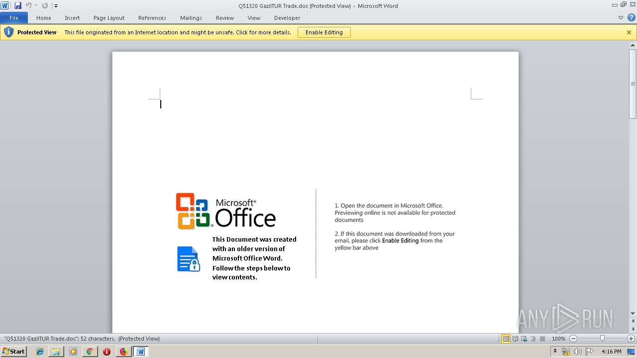 Screenshot of unknown taken from 140206 ms from task started