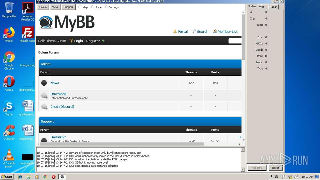 Screenshot of ffc031531b0e636699caaed7600f77abf7c565398da48aaeb5c41c4980ea357c taken from 79431 ms from task started