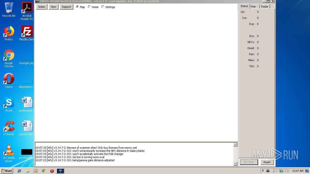 Screenshot of ffc031531b0e636699caaed7600f77abf7c565398da48aaeb5c41c4980ea357c taken from 64218 ms from task started