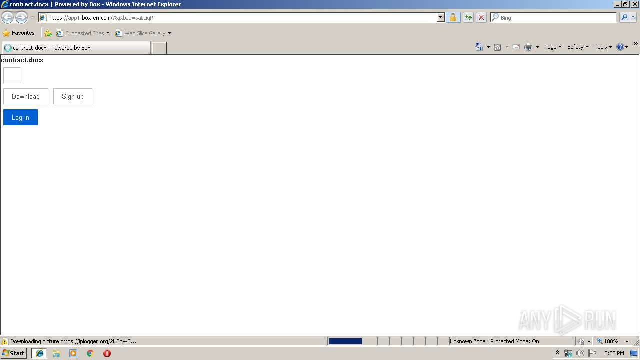 Screenshot of unknown taken from 56838 ms from task started