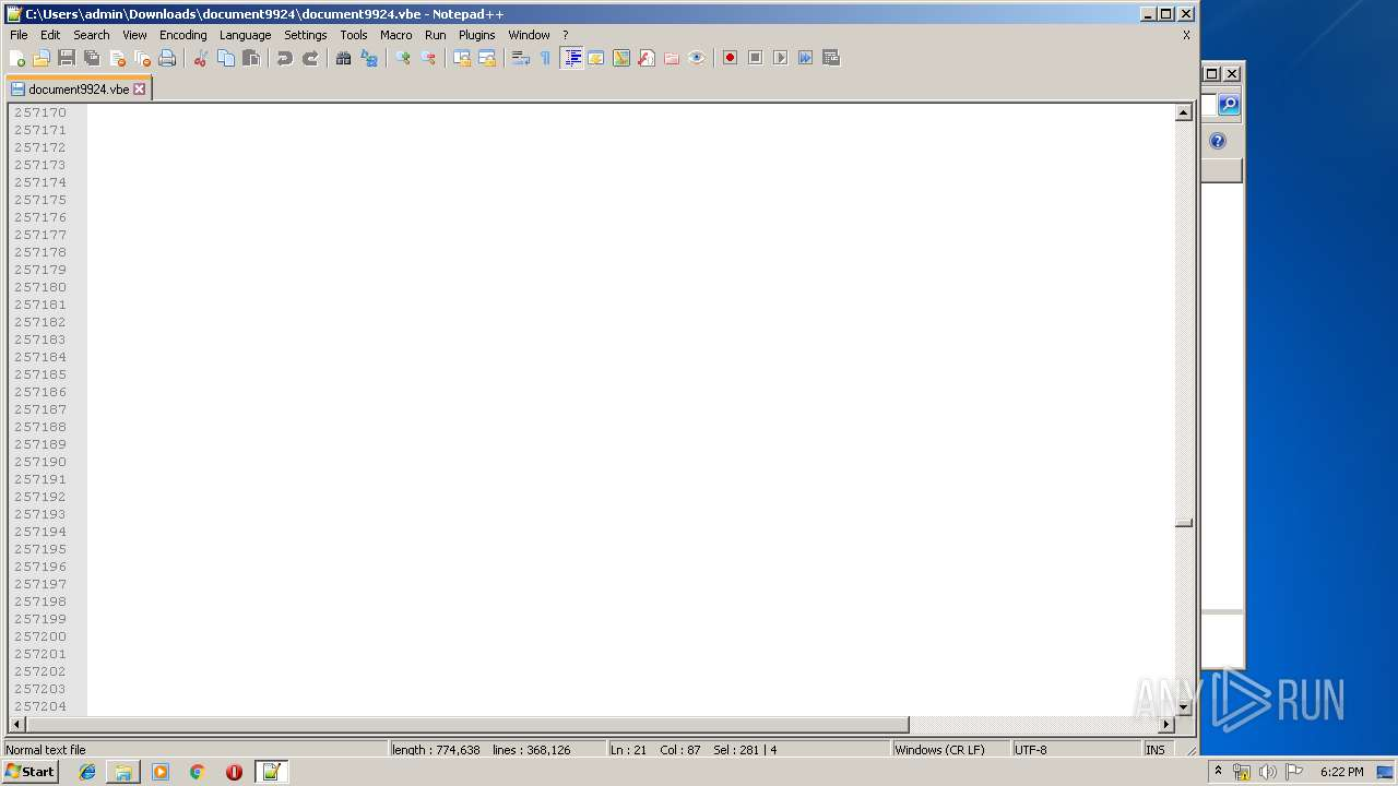 Screenshot of unknown taken from 161906 ms from task started