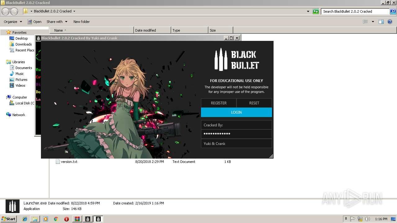 BlackBullet+2 0 2+Cracked zip