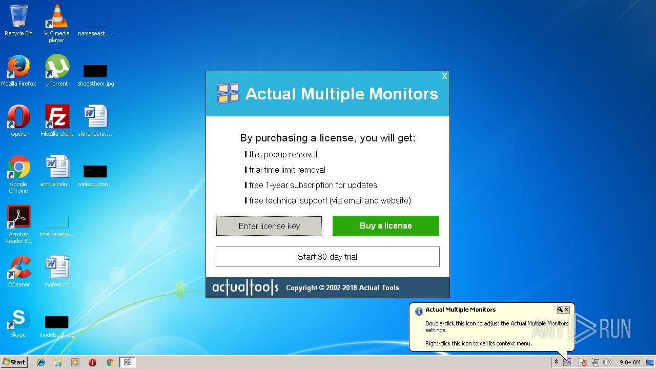 actual multiple monitors free version download