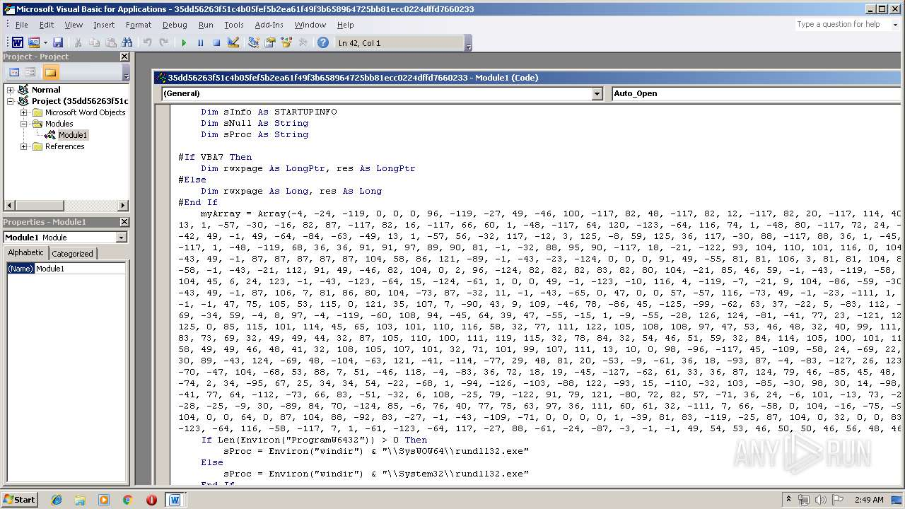 Screenshot of 35dd56263f51c4b05fef5b2ea61f49f3b658964725bb81ecc0224dffd7660233 taken from 51149 ms from task started