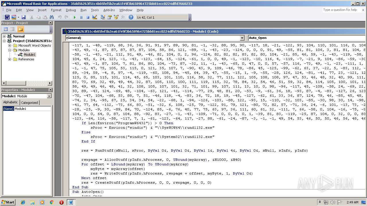 Screenshot of 35dd56263f51c4b05fef5b2ea61f49f3b658964725bb81ecc0224dffd7660233 taken from 54071 ms from task started