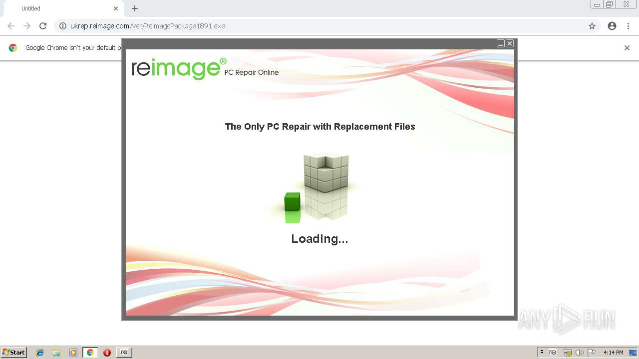 what is reimage.ini