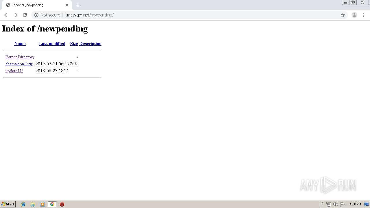 http://kmazvger net/   ANY RUN - Free Malware Sandbox Online
