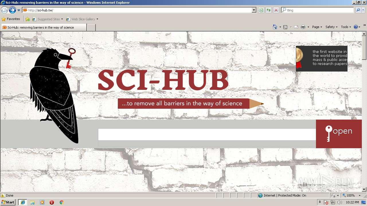 sci hub tw
