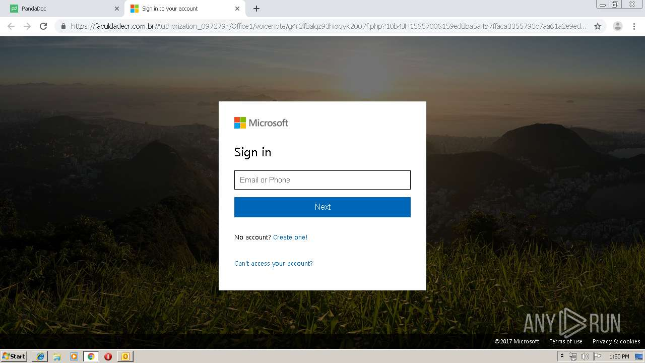 Screenshot of 4557ecee82ea3ffb23e5b6c77c3aba90a98bfeaf2723f07060ec95edfab88be7 taken from 109684 ms from task started