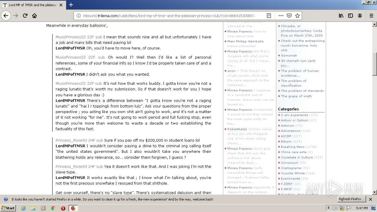 Resetarea Firefox - rezolvarea simplă a celor mai multe probleme