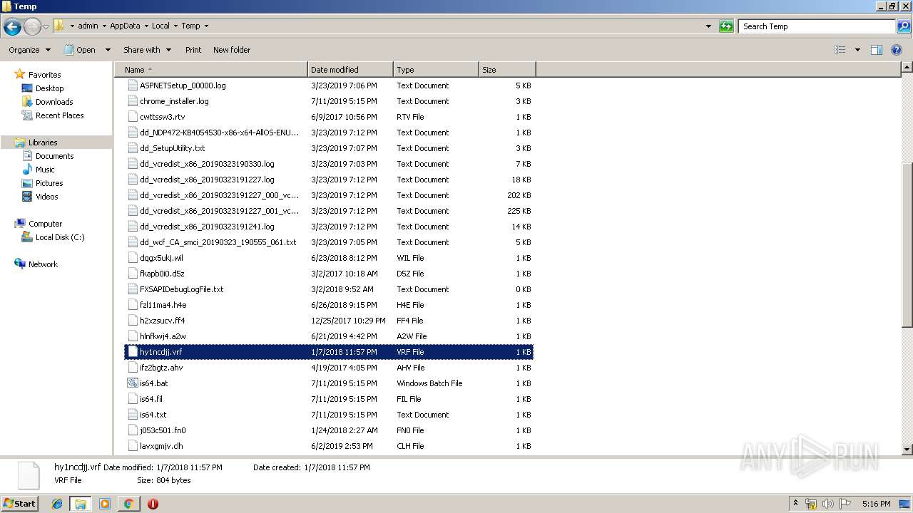 Screenshot of 9948315750fc4307f9b488bba9c87e61d36309c68100f868bbfec0fc860ee300 taken from 201124 ms from task started