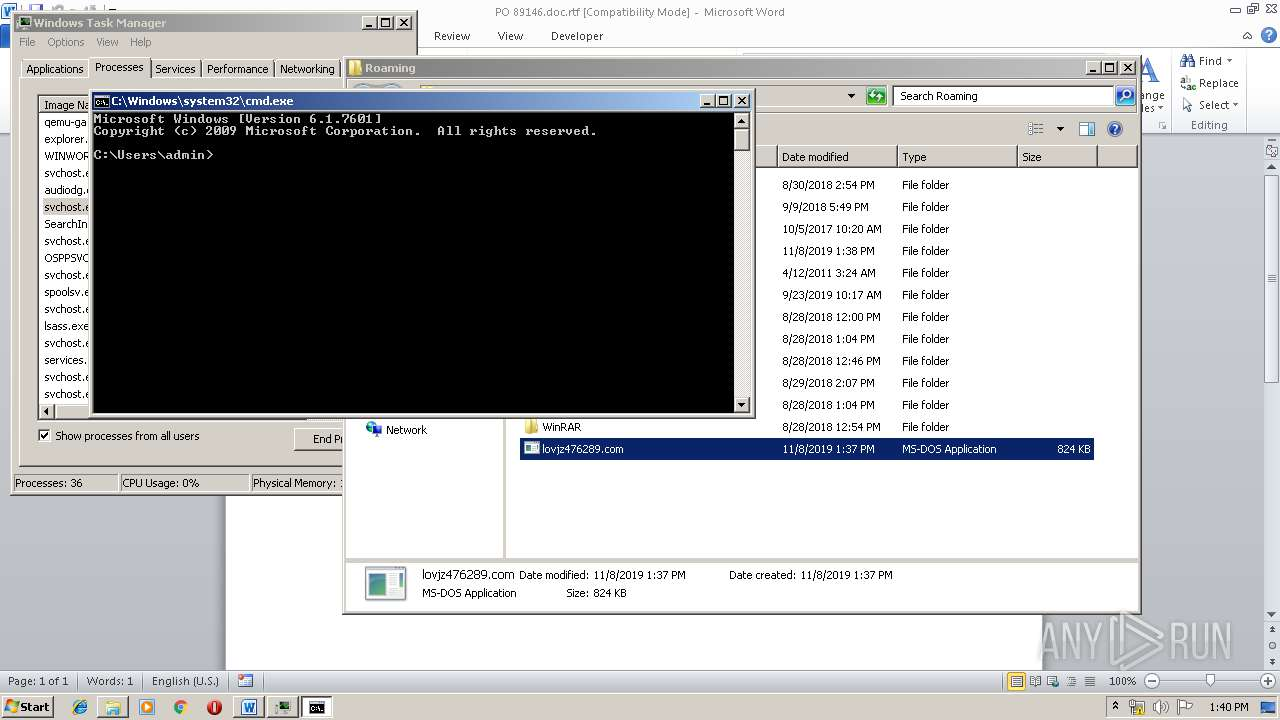 Screenshot of b5cedb5c1886c744a44aa9bbe2ff2692c96f9ff47ec663a476249204333fa36a taken from 192554 ms from task started