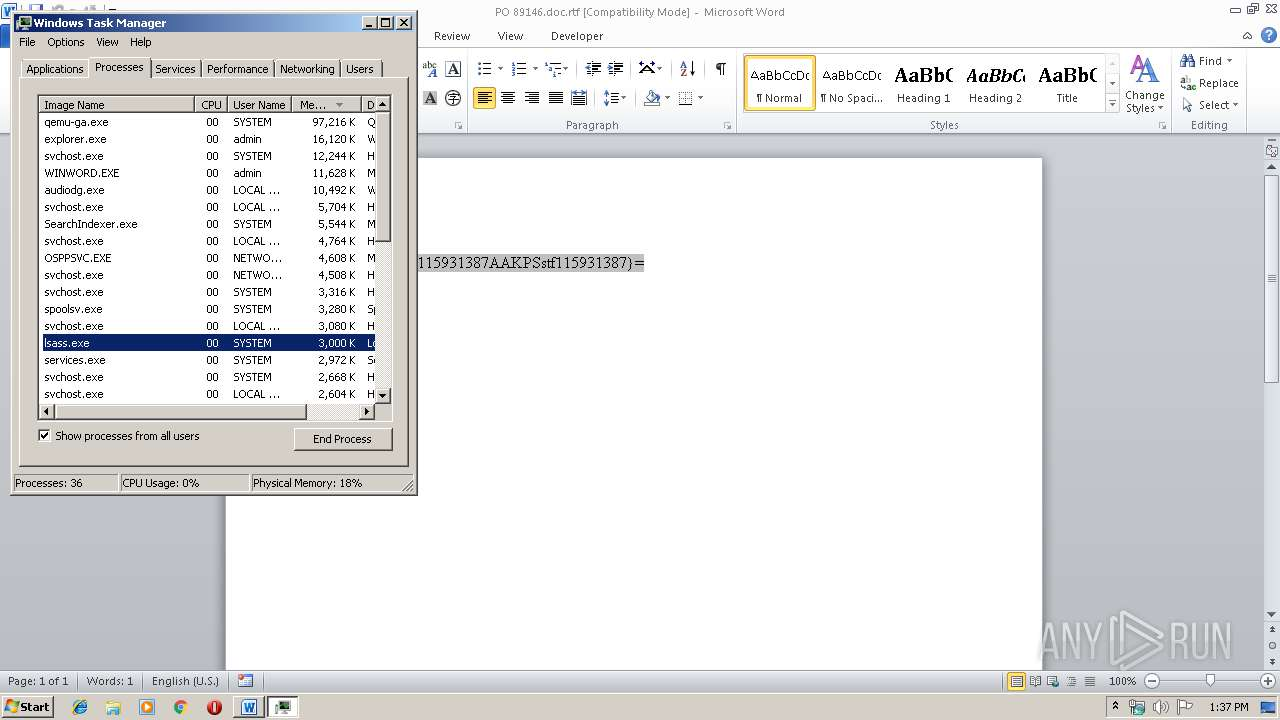 Screenshot of b5cedb5c1886c744a44aa9bbe2ff2692c96f9ff47ec663a476249204333fa36a taken from 37974 ms from task started