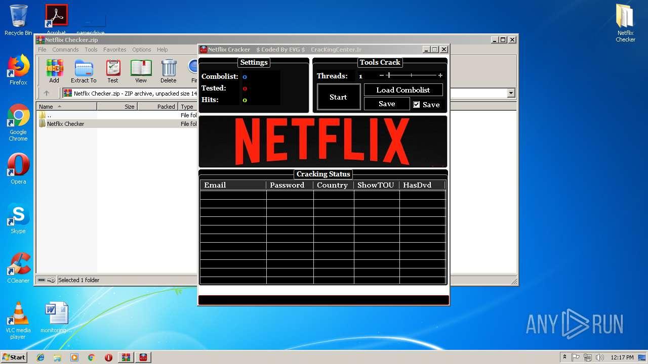 Netflix Combo List Checker