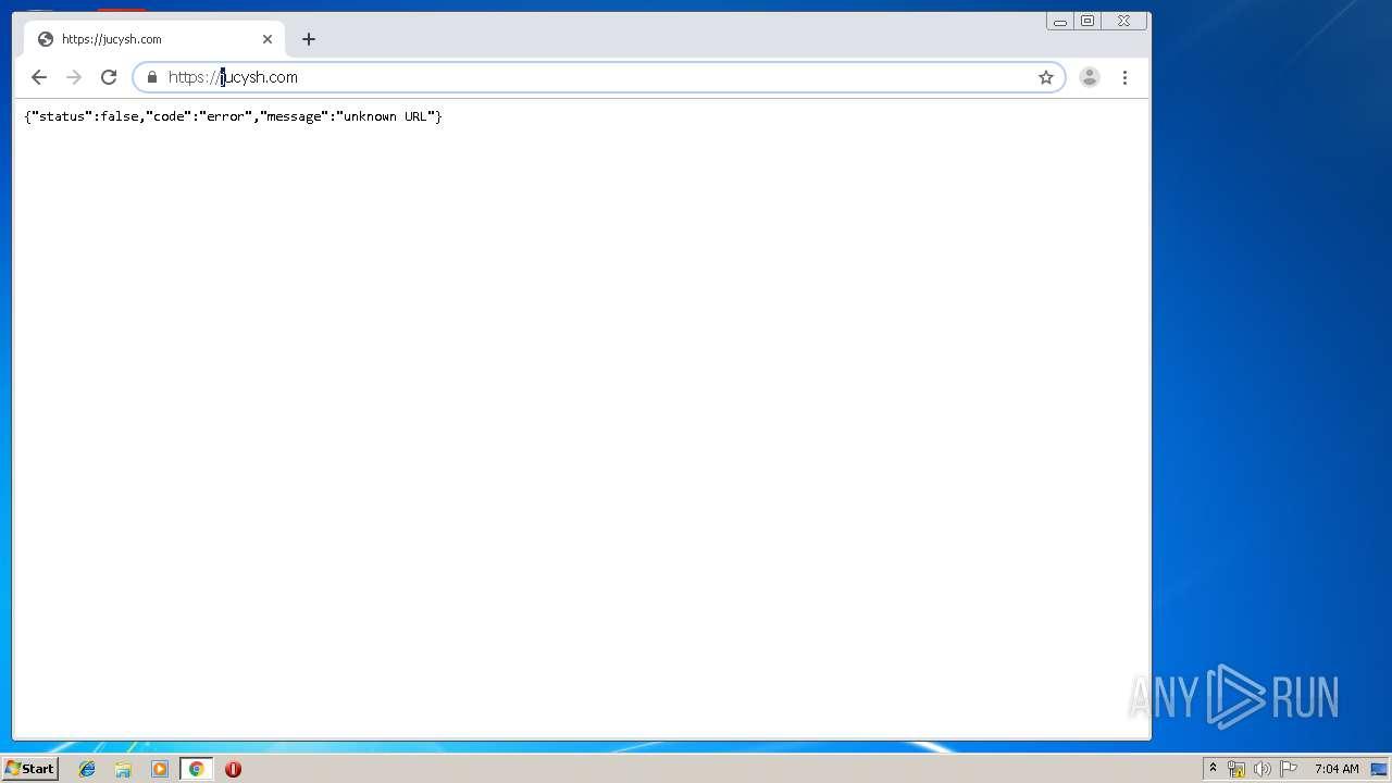 Jucysh Malware