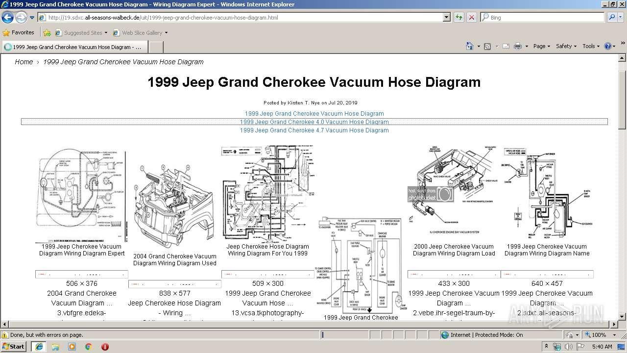 1999 Jeep Cherokee Starter Wiring Diagram