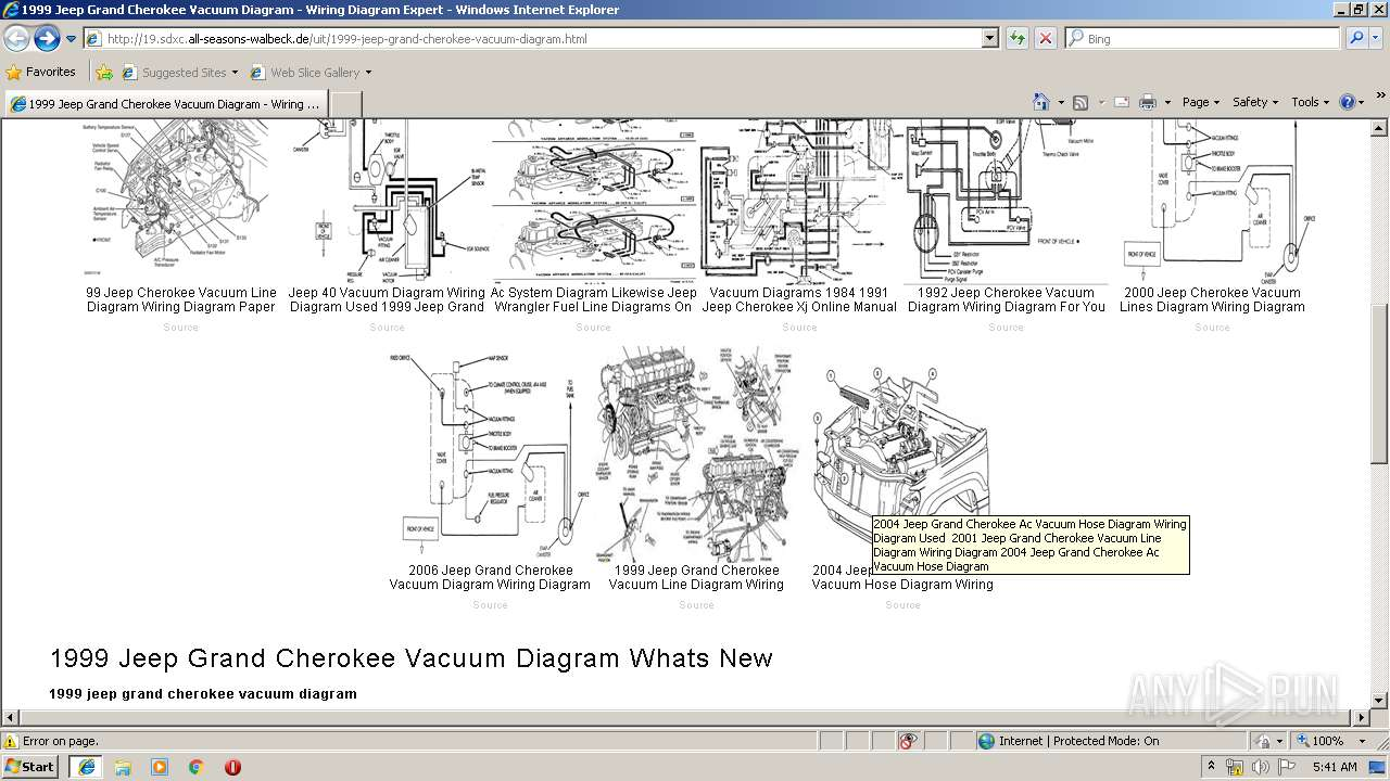 33 2004 Jeep Grand Cherokee Vacuum Hose Diagram