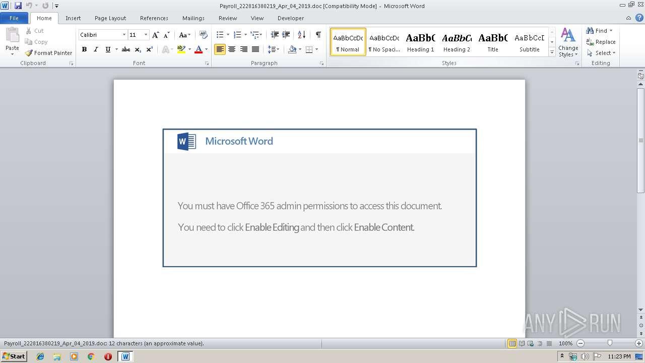Screenshot of fdf5ae819c2ea1ddaebce884e2839e459fbd80ec980915669e6e8b9f54cc2602 taken from 18899 ms from task started