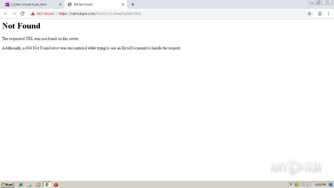 Screenshot of unknown taken from 123987 ms from task started