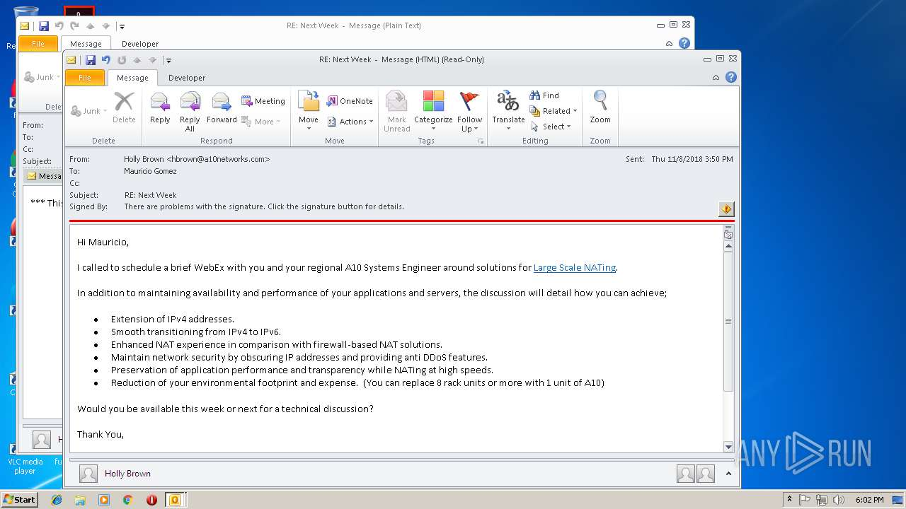 Screenshot of 18295643acae30239666afc77e102ec69fa6ec2b9b952407c63165390316fabd taken from 43000 ms from task started