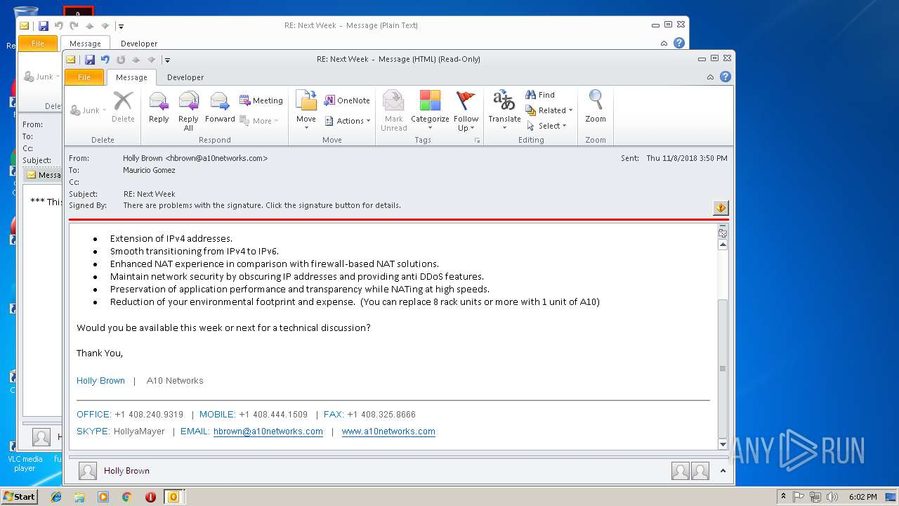 Screenshot of 18295643acae30239666afc77e102ec69fa6ec2b9b952407c63165390316fabd taken from 46043 ms from task started