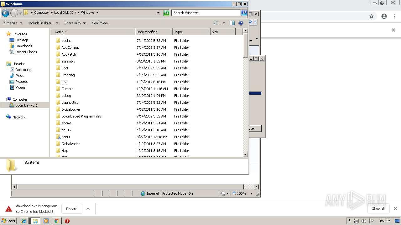 http://195 128 124 189 | ANY RUN - Free Malware Sandbox Online